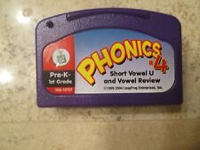 Leapster LeapPad Game Cartridge Phonics #4