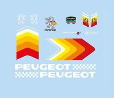 Peugeot Bicycle Decals-Transfers-Stickers #9