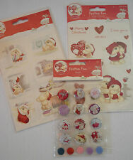 TRIMCRAFT SIMPLY CREATIVE GLITTER STICKERS SANTA CLAUS SCSTK150 CHRISTMAS