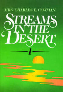 Streams in the Desert 1 - Hardcover By Cowman, L. B. - ACCEPTABLE