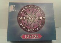 Who Wants to Be a Millionaire Junior Board Game (Complete, 2000, Celador)