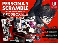 Switch Persona 5 Scramble The Phantom Strikers Treasure Box Limited Edition New