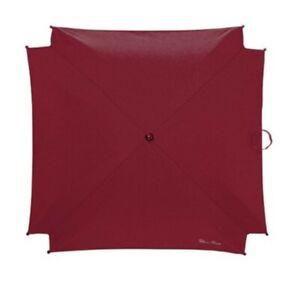 Bnwt Genuine Silver Cross Parasol Sun Umbrella Red surf Wayfarer pop universal.