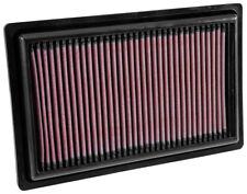 K&N 33-3034 Air Intake Filter 2013-2018 Mercedes Benz C250 C300 E250 E300 SLC300