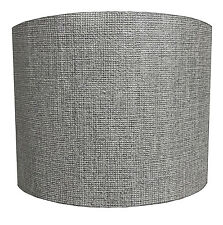 Grey Shimmer Lampshades Ideal To Match Grey Wallpaper Grey Duvets Grey Cushions.