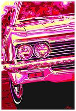 13x19 1966 Chevrolet Impala SS Photo Pop Art Print Garage Chevy '66 396 327 V8