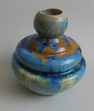 Alfred Renoleau. Vase en grès à décor de cristallisations, fin XIXe siècle