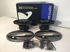 "Planet Audio VTX6903 6"" X 9"" 3-Way Speakers & Crossovers"