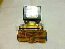 """Parker 1/2"""" 0-150psi N/C Oxygen solenoid valve 08F23C2240ACFPH05OW, 110/120v D5"""