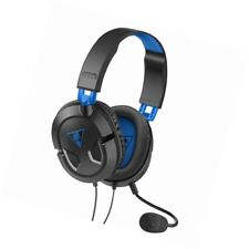 Turtle Beach Recon 50P Black/Blue PS4 Xbox Gaming Headsets for Multi-Platform