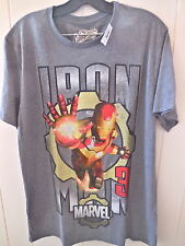 """new IRONMAN """"Retro""""  size Large Graphic S/S T shirt (Collectabilitees)"""