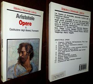 Opere vol.11 (Costituzione degli Ateniesi, Frammenti), Aristotele, Laterza