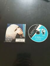 Lady Gaga cd single France poker face  2008