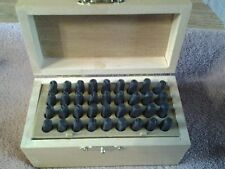 39 pcs english and number punches