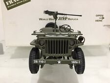 Franklin/Danbury Comme neuf WW2 Willys Jeep 1:16
