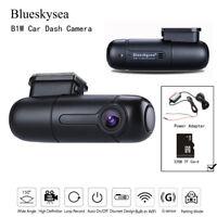 Blueskysea B1W Car Dash Camera Vehicle Recorder & 32GB TF Card & Power Adapter