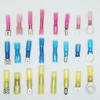 Heat shrink Terminals Heatshrink Ring Spade Bullet Fork Butt All Terminal Type