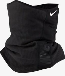 NIKE HYPERSTORM NECKWARMER BLACK / WHITE N1000651 091 SIZE ADULT ONE SIZE