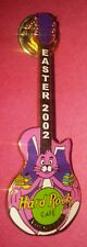 HARD ROCK CAFE YOKOHAMA 2002 EASTER GUITAR PIN AUTHENTIC LIMITED EDITION RARE
