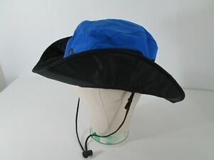 Outdoor Research OR Goretex Boonie Bucket Hiking Hat Cap Sz L Blue Black