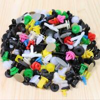 200pcs Various Car Plastic Rivet Fastener Push Pin Panel Trim Moulding Clips
