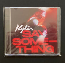 Kylie Minogue Say Something CD PROMO VERY VERY RARE Jewel Case