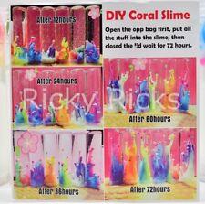 1lb DIY Coral Slime Lava Unicorn Squishy Mud Poop Putty Unicornio Time Lapse