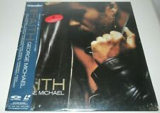 George Michael Japanese Laserdisc FAITH New & Sealed Japan WHAM! Interviews