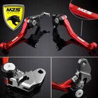 MZS Pivot Brake Clutch Levers For Honda CR125R/CR250R CRF450X CRF250X CRF250R