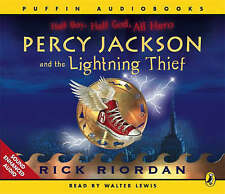 Percy Jackson and the Lightning Thief by Rick Riordan (CD-Audiobook, 2006) 3CD