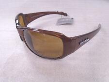 Ugly Fish Polarised Sunglasses Swift PN3077 Brown/Brown Bifocal Lens +2.00