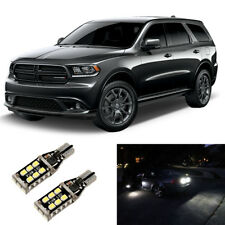 2pc High Power White 921 LED Reverse Backup Light Bulbs For 11-18 Dodge Durango
