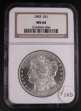 1883 Morgan Dollar NGC-MS64