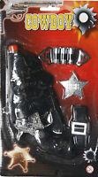 Cowboy Cowgirl Costume Toy Pistol, Gun, Holster, Bullets + Belt 7 Piece Set