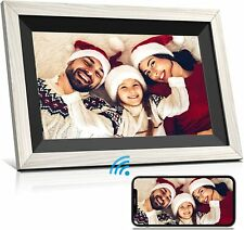 ELECEYE Digital Picture Frame, 10.1 Inch HD IPS Touchscreen, with 16 GB Memory