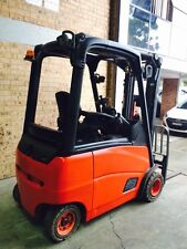 Linde E20  CONTAINER MAST 2 Ton 4 Wheeler, Good Batt. 2009 Model For Hire PW