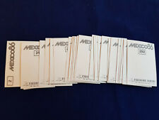 Panini WM WK WC 1986 Mexico 86, complete set of badges/ alle Wappen, 27 stickers