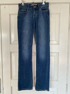 Womens STRETCH PIPER JEANS SIZE 8