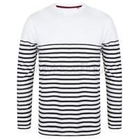 Front Row Long Sleeve Breton Striped T-Shirt