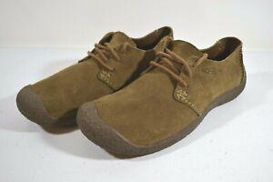 Keen Women's Green Suede Leather Toyah Walking Trail Shoes Sz 8