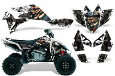 Suzuki LTR 450 AMR Racing Graphic Kit Wrap Quad Decals ATV 2006-2009 MADHATTER W