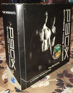 P90X Extreme Home Fitness The Workouts by Tony Horton Complete 13 DVD Set