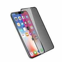 6D Fit Apple iPhone XR PRIVACY  Tempered Glass Film Screen Protector 9H Guard