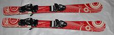 Kids skis  90cm Skis shape 90 cm  + Tyrolia  4.5 Bindings adjustable black  NEW