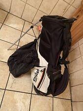 New listing Ping Hoofer E2  Golf Carry Bag Dual Strap. W/raincover. 4 Way Divider. Standbag