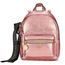BNWT Victoria's Secret Pink mini backpack bag adjustable/detachable strap travel