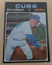 JIM COLBORN - 1971 Topps #38 - Melbourne Aces - Australian Baseball League