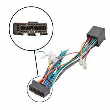 KENWOOD 22 PIN ISO Radio Stereo Auto Cablaggio Cavo Adattatore Connettore guaina