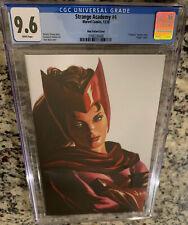 CGC 9.6 - Strange Academy #4 ALEX ROSS TIMELESS Scarlet Witch Virgin Variant NM
