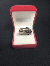 GORGEOUS Vintage Ring Elephant Shape Size 10 1/4